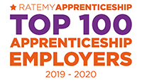 RateMyApprenticeship's Top 100 Employers 2019 – 2020